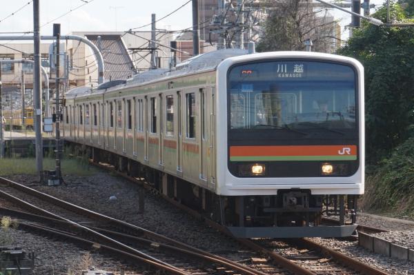 2015-09-19 八高線209系ハエ62編成 川越行き
