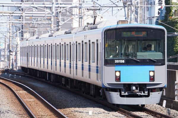 2015-09-22 西武20158F 準急所沢行き 4305レ