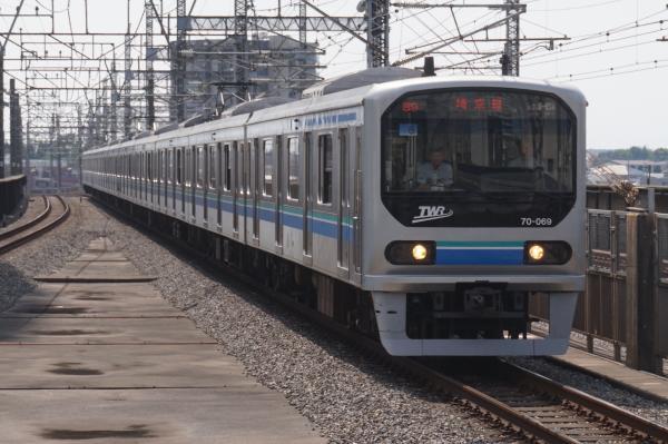 2015-09-23 りんかい線70‐000形Z6編成 快速川越行き