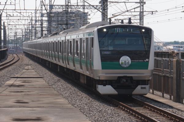 2015-09-23 埼京線E233系ハエ130編成 各駅停車大宮行き