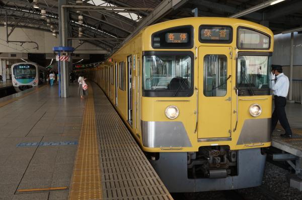 2015-09-23 西武2097F 各停保谷行き 5723レ