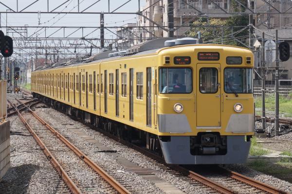 2015-08-22 西武2023F 各停東村山行き 6635レ