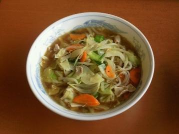 野菜ラーメン620円