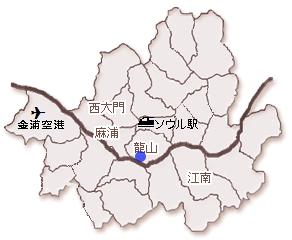 韓国 ソウル 二村 イチョン ハンガラム