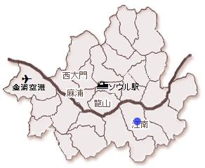 韓国 江南 不動産 レミアン駅三