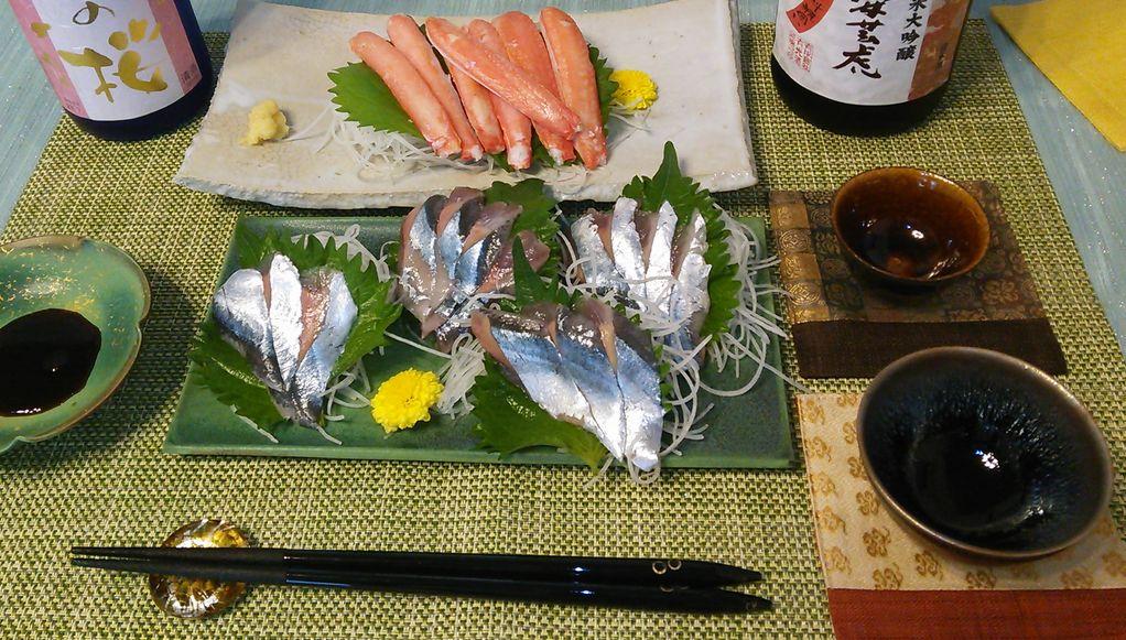 20150823秋刀魚ズワイガニ