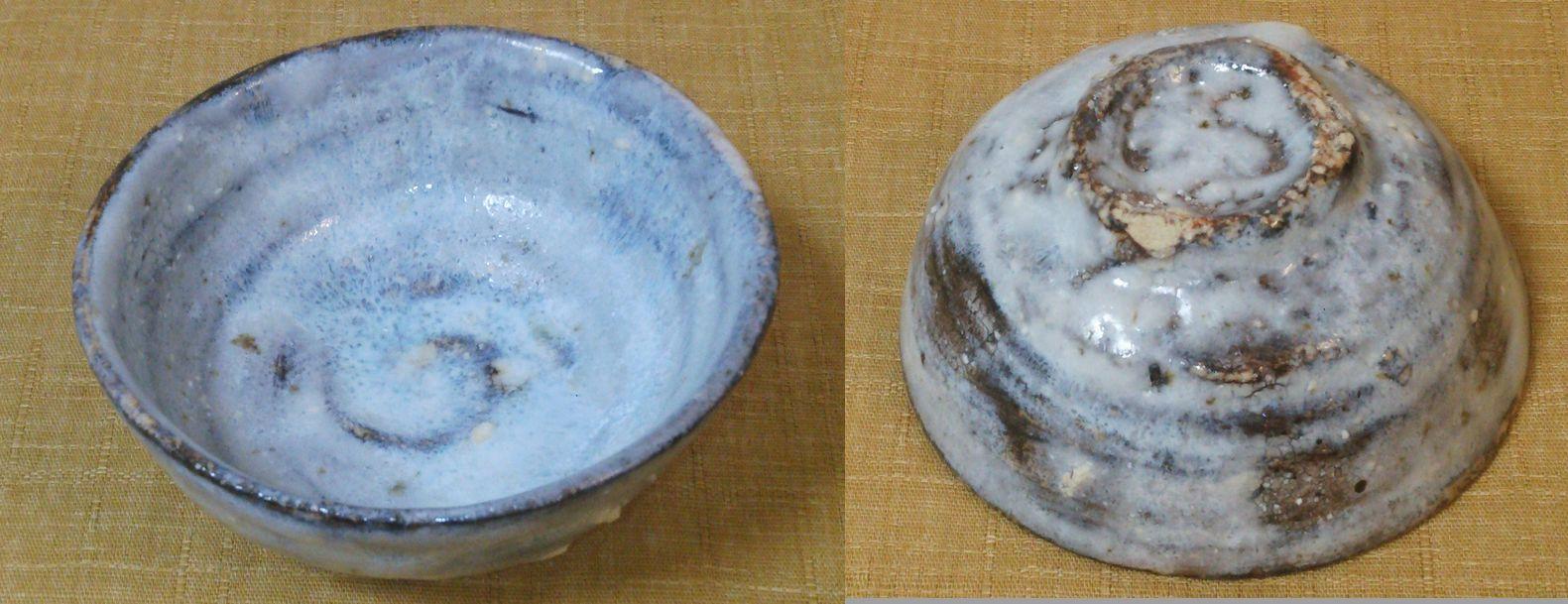 阪本健藁釉粉引