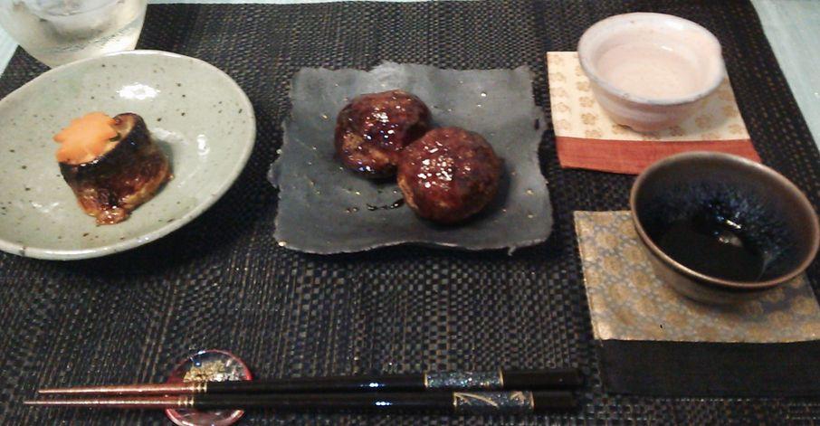 20150906山形牛肉団子秋刀魚