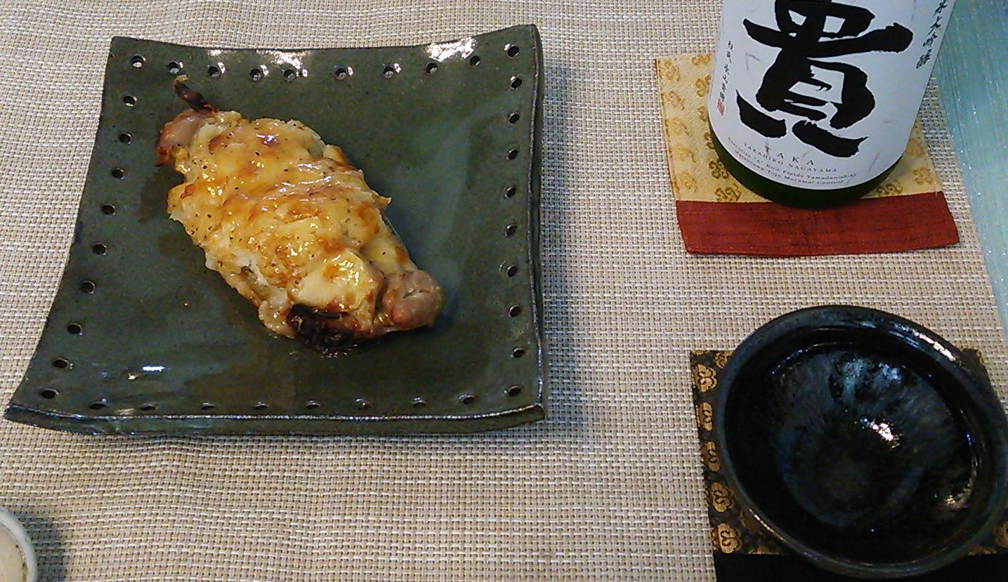 20150922チーズとチキンのロースト