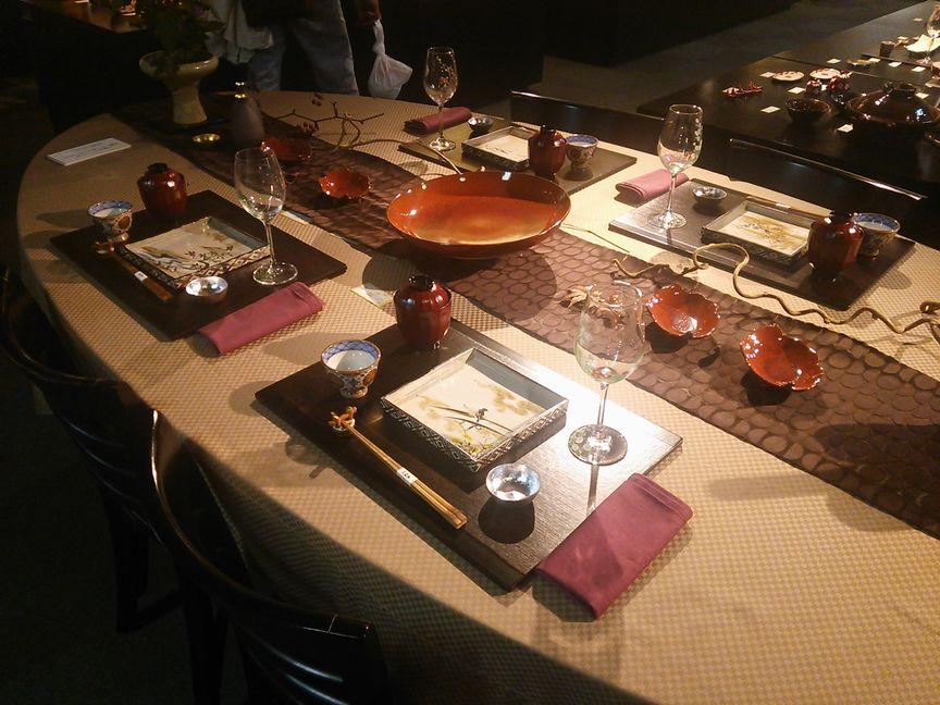 2015清水焼の郷まつりテーブル