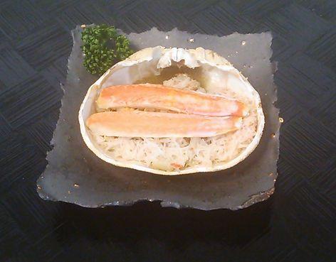20151018ズワイガニ甲羅焼き