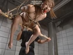 監禁緊縛吊りバイブ責め - エロ動画 アダルト動画