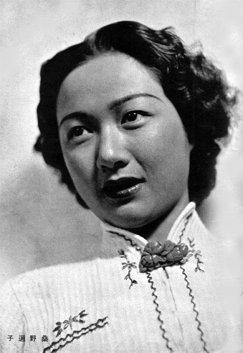 桑野通子1938may