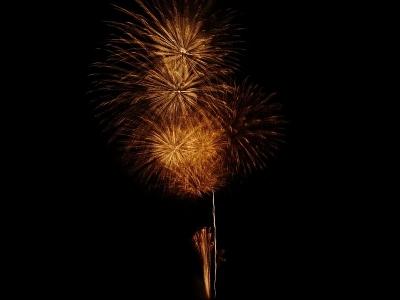 五十沢の花火4