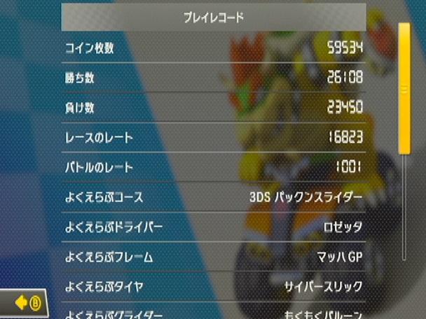 MK8 記録