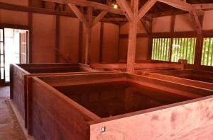 脱酸水槽室の水槽