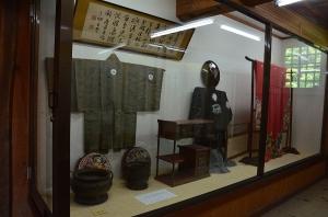 広兼邸 土蔵の展示物