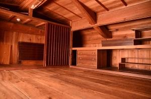 旧片山家 主人の寝室
