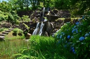 ひばの里 人工の滝