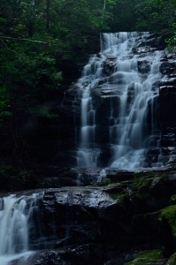 女王の滝 アップ