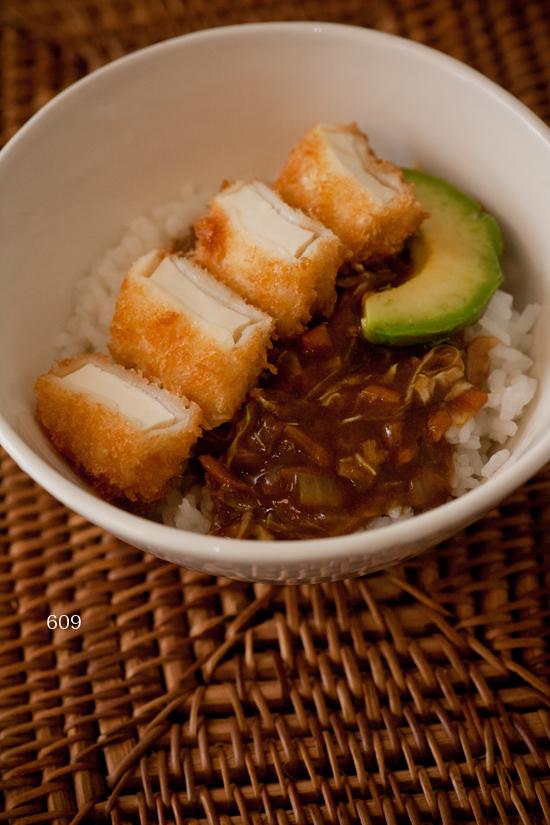 豆腐カツカレー