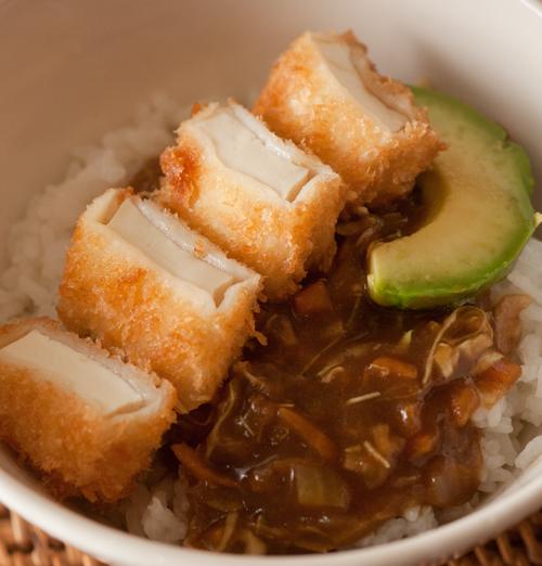 豆腐カツカレー2