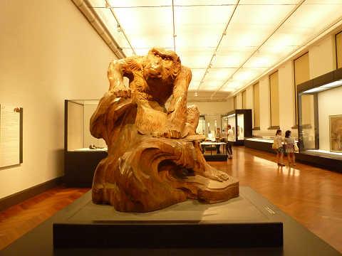 老猿 高村光雲 国立博物館 重要文化財