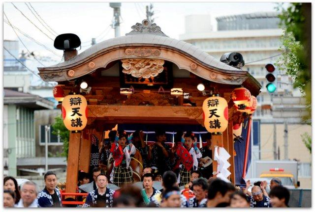 秋田県 大館市 大館 神明社 例祭 彌榮 いやさか 祭り