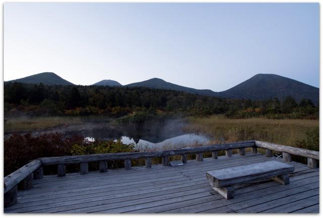 青森県 八甲田山 城ヶ倉大橋 写真