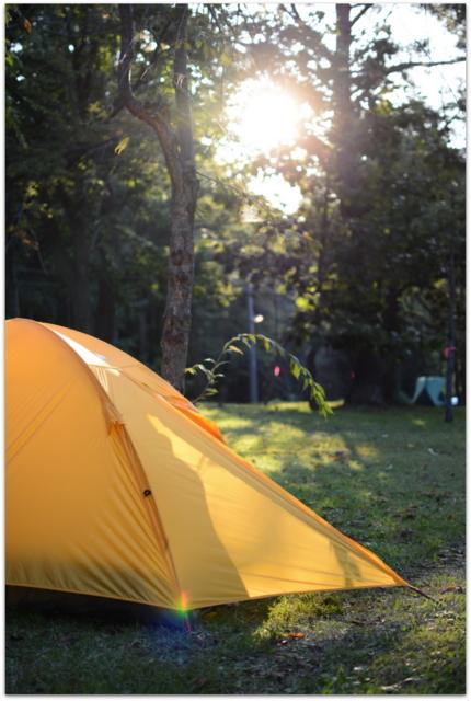 青森県 弘前市 岩木山桜林公園 キャンプ