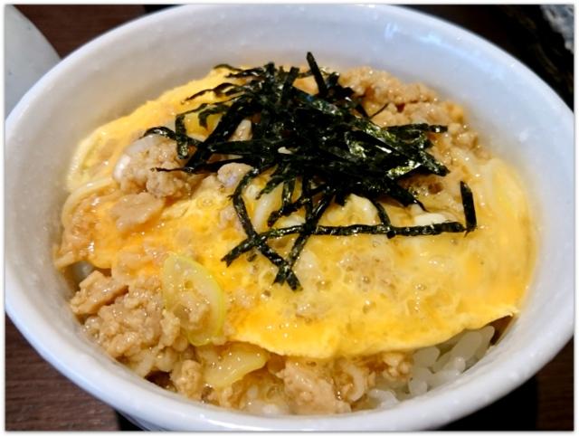 青森県 弘前市 ランチ グルメ 高田 食事 飲食店 ざる中華 鶏そぼろの親子丼