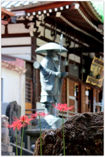 青森県 弘前市 最勝院 五重塔 金剛山 彼岸花 曼珠沙華