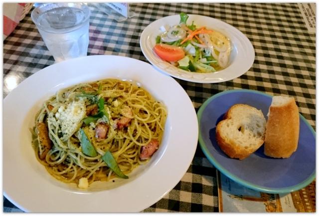 青森県 黒石市 イタリアン パスタ レストラン サッソネロ ランチ たこのポテトのジェノベーゼソース グルメ