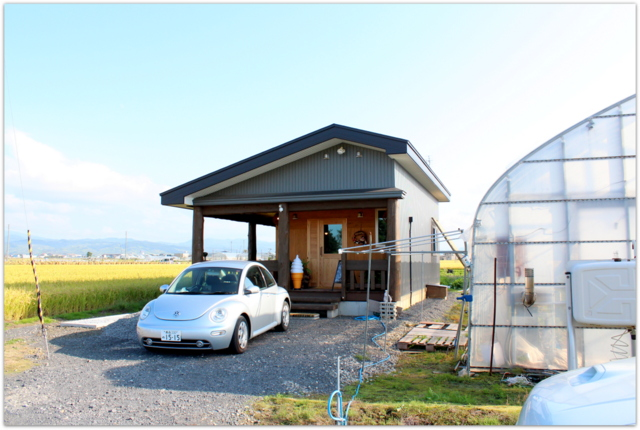 青森県 田舎館村 工藤観光農園 いちごカフェ 生ジュース いちごパフェ グルメ
