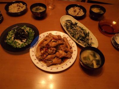 8.22夕食