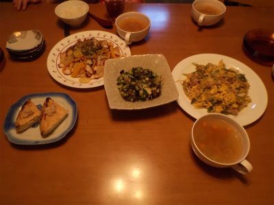 8.23夕食