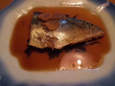 8.29鯖の煮付け