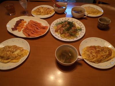 8.30夕食