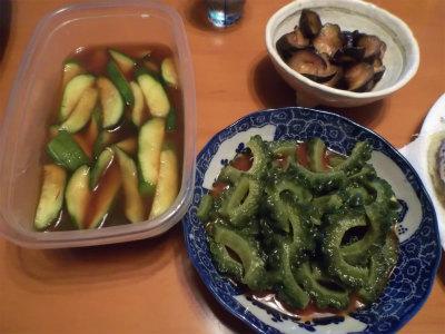 9.6辛子料理3種