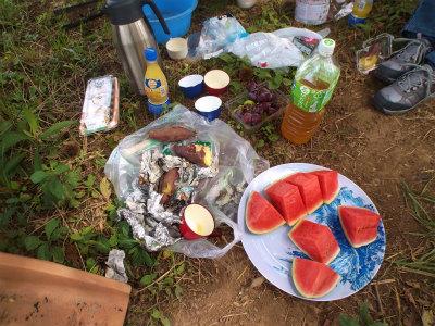 9.21畑でピクニック