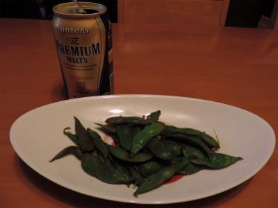 9.27初枝豆とビール