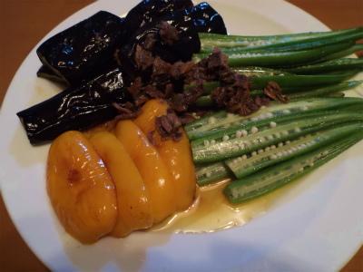 9.28夏野菜のアンチョビソース