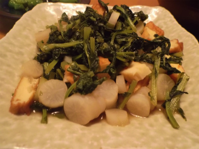 10.10大根菜の煮付け