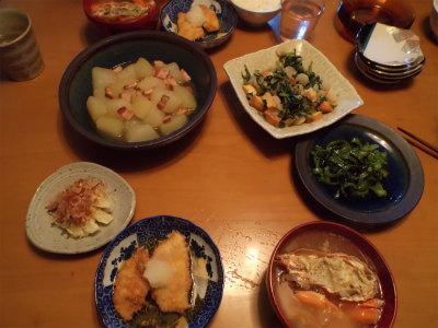 10.10夕食