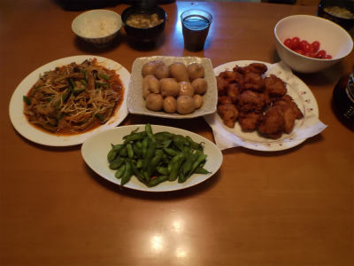 10.11夕食