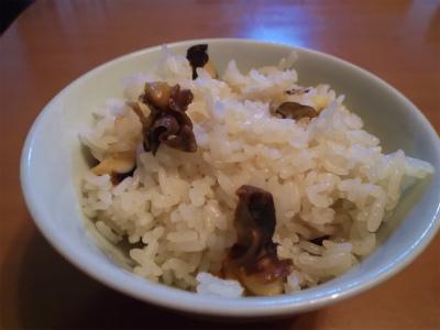 10.15サザエご飯