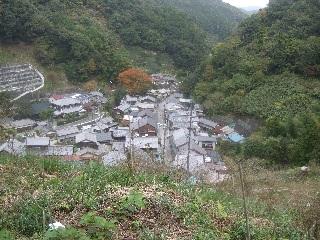 宇津ノ谷の集落_H22.11.16撮影