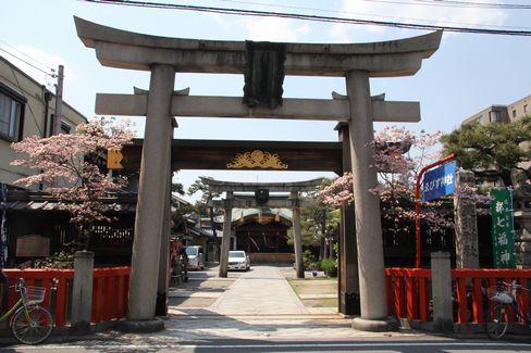ゑびす神社一の鳥居_H27.04.25撮影