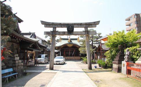 ゑびす神社二の鳥居_H27.04.25撮影