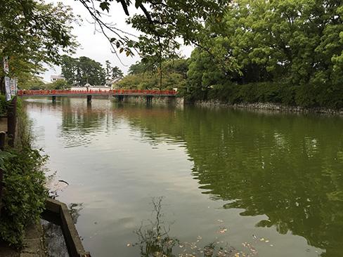 小田原城・二の丸東堀_H27.09.22撮影